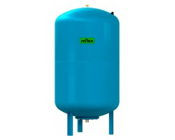 Гидропневмобак Refix DE 300  для водоснабжения, цвет голубой (Reflex) 7306800 REFLEX