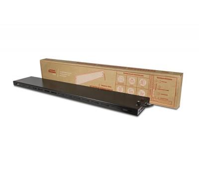Обогреватель инфракрасно-конвективный плинтусного исполнения1000х160х20 (250Вт,черный) P-1T (IP24 Ч) СТН