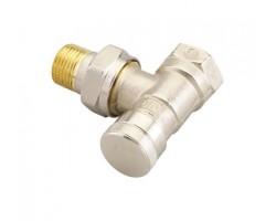 Клапан радиаторный запорный угловой RLV-20,DN20 003L0145 DANFOSS