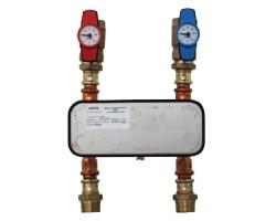 Модуль горячей воды 40 кВт с теплообменником МКС100 1040040 GEFFEN