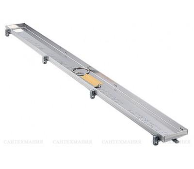 Основа для плитки ТЕСЕDrainline из нержав.стали, прямая, 1500мм 601570 Tece