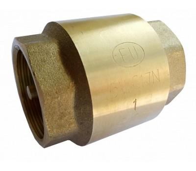 """Клапан обратный EUROS 3/4"""" (латунный механизм) EU.ST4056045 34 EUROS"""