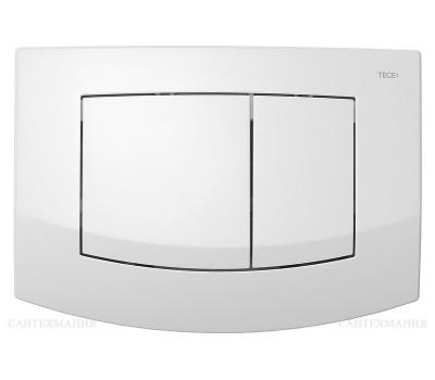 Панель смыва TECEambia с 2-мя клавишами , белый.Антибактериальный 9240240 Tece