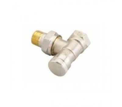Клапан радиаторный запорный угловой RLV-15,DN15 003L0143 DANFOSS