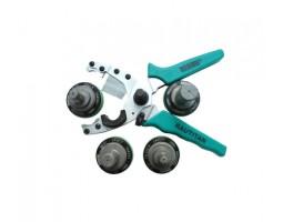 Смен. к-т насадок и зеленые ножницы для труб Stabil (16-32)