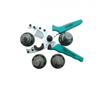 Смен. к-т насадок и зеленые ножницы для труб Stabil (16-32) 247524-003 REHAU