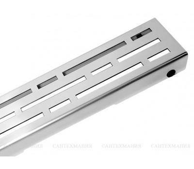 """Решетка для слива Drainline Дизайн """"basic"""",нержавейка полированная, 800мм 600810 Tece"""