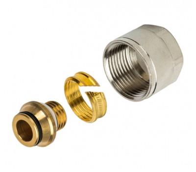 """Концовка компрессионная для м/пластиковых труб 20х2,0х3/4"""" с евроконусом SFC-0021-002020 STOUT"""