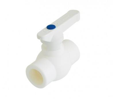 Кран шаровый PPRC  D20 (белый) 3242-vlb-200003 FIRAT