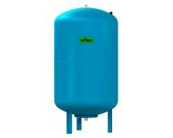Гидропневмобак Refix DE 33 (с ножками) для водоснабжения, цвет голубой (Reflex) 7305500 REFLEX
