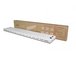 Обогреватель инфракрасно-конвективный плинтусного исполнения1000х160х20 (250Вт,белый) P-1T (IP24 Б) СТН