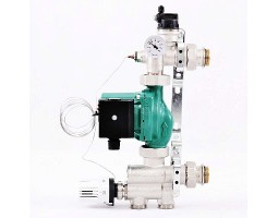 """Насосно-смесительная группа SOLOMIX 1"""" для низкотемпературного контура,без насоса (до12,5 кВт)"""