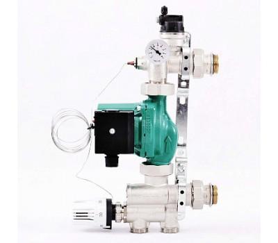 """Насосно-смесительная группа SOLOMIX 1"""" для низкотемпературного контура,без насоса (до12,5 кВт) 470N1200 SOLOMIX"""