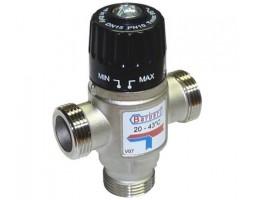 """Термостатический смесительный клапан для систем отопления и ГВС 1""""НР (35-60* С,Kv-2.5)"""