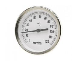 """03.08.080 Термометр биметаллический  накладной d80x1/2"""" ТАВ 80/120"""