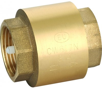 """Клапан обратный EUROS 1"""" (пласт. механизм) EU.ST4001056 1 EUROS"""