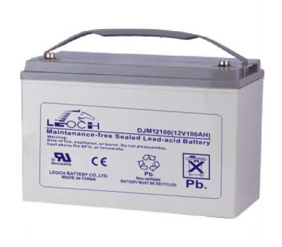 Аккумулятор LEOCH DJM 12100 (12v, 100Ач) DJM12100